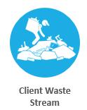 client waste stream